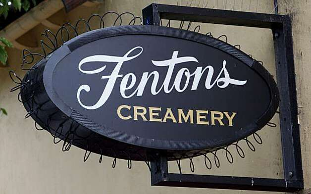 "Fentons Creamery on Piedmont Ave. in Oakland, Calif., on Saturday May 23, 2009.  The historic ice cream parlor and restaurant figures prominently into the new Pixar animated feature, ""Up"" Photo: Michael Macor, The Chronicle"