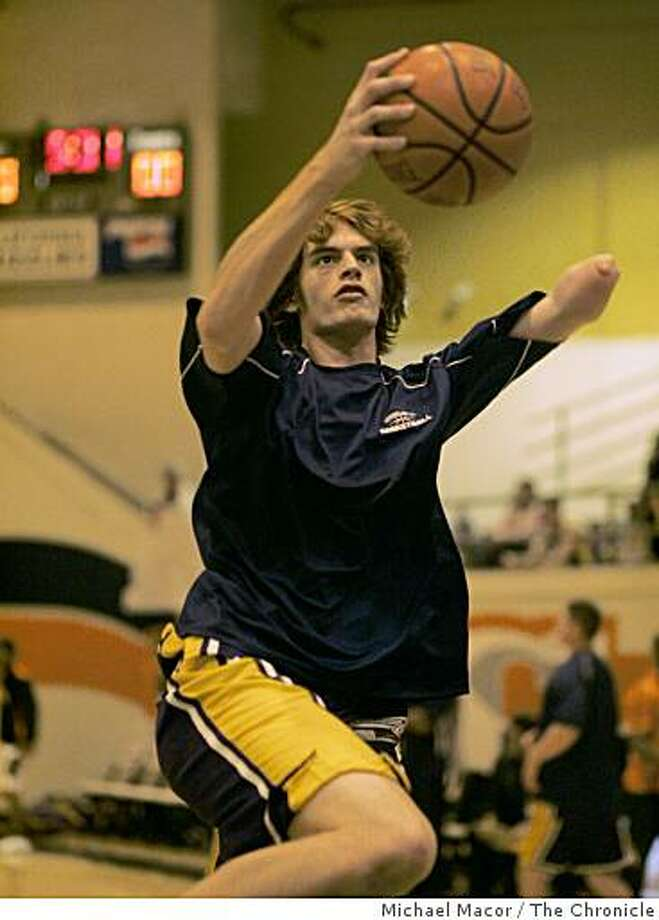 Kevin Laue during his Amador Valley days. Photo: Michael Macor, The Chronicle