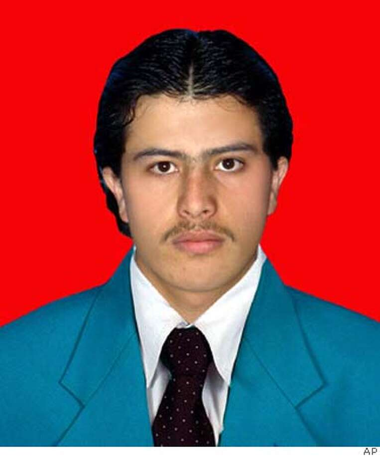 This undated photo provided by his family shows 23-year-old Afghan journalist Sayed Parwez Kaambakhsh. Kaambakhsh, was sentenced to death Tuesday, Jan. 22, 2008, by a three-judge panel in the northern city of Mazar-i-Sharif for distributing a report he printed off the Internet to fellow journalism students at Balkh University. (AP Photo) UNDATED PHOTO PROVIDED BY FAMILY, NO SALES ** PHOTO BACKGROUND ALTERED BY SOURCE ** Photo: AP