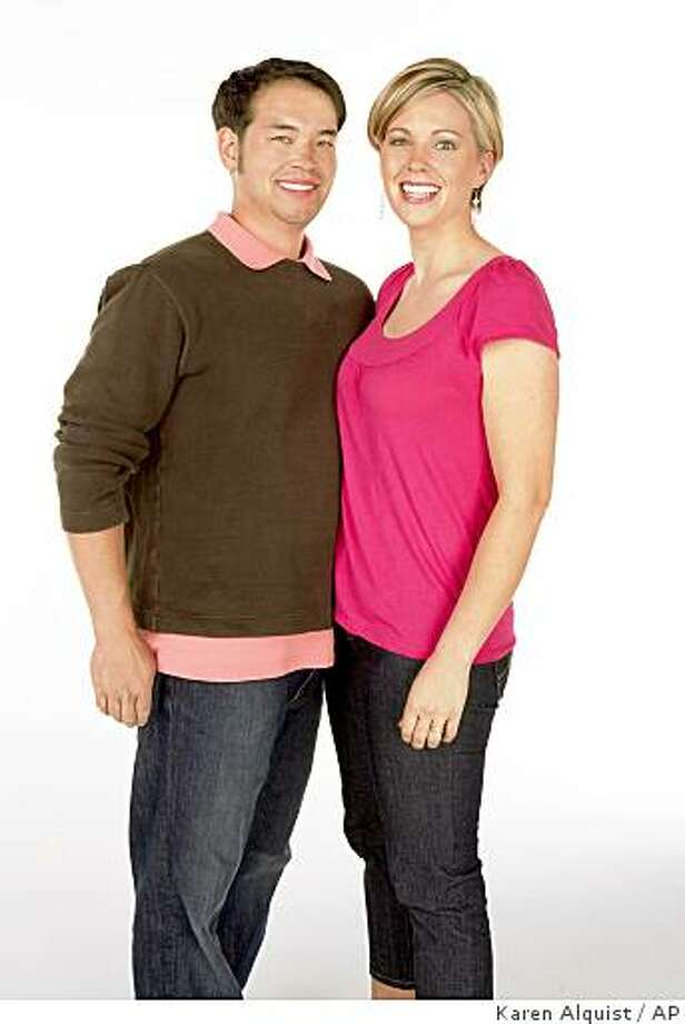 "** ADVANCE FOR TUESDAY, MAY 26  ** FILE - This undated file publicity image released by TLC shows reality TV stars, Jon Gosselin, left, and his wife Kate Gosselin, from the TLC series, ""Jon & Kate Plus 8."" (AP Photo/TLC, Karen Alquist) ** NO SALES ** Photo: Karen Alquist, AP"