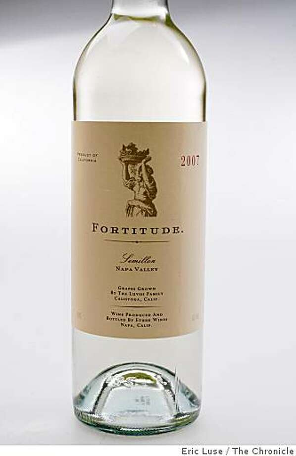 2007 Fortitude Semillon  photographed on Thursday, May 28, 2009. Photo: Eric Luse, The Chronicle