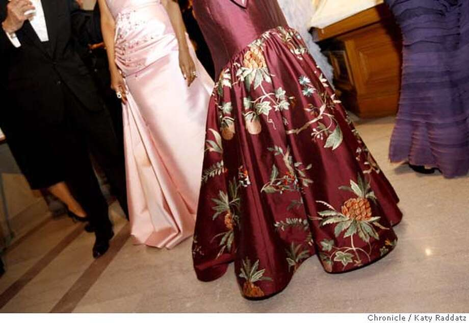 SFBALLET25_GALA  A sea of fabulous dresses at the gala party at City Hall to celebrate the 75th anniversary of the San Francisco Ballet. These pictures were made on Wednesday, Jan. 23, 2008, in San Francisco, CA. KATY RADDATZ/The Chronicle Photo: KATY RADDATZ