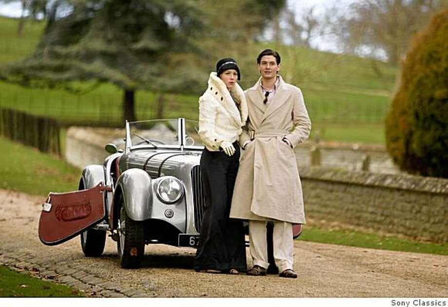 "Jessica Biel and Ben Barnes in ""Easy Virtue."" Photo: Sony Classics"