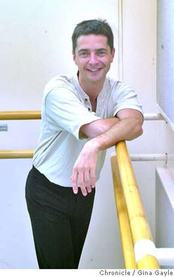 BRUCE12A-C-26JUL01-PK-GG-Bruce Sansom of the Royal Ballet is here in San Francisco working behind the scenes before going on to New York. Photo by Gina Gayle/The SF Chronicle.  Ran on: 01-20-2008  Clockwise from far left: Bruce Sansom, who was a guest dancer at San Francisco Ballet in 1992; Evelyn Cisneros, who was a company dancer from 1977 to 1999; and Christopher Stowell, a company dancer from 1985 to 2001. Photo: GINA GAYLE