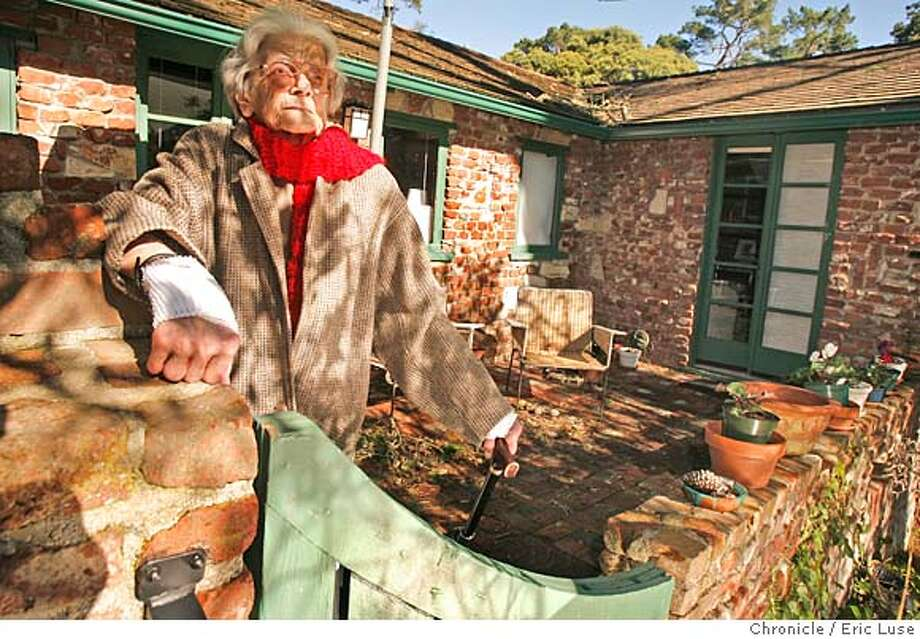 sigstyle_sales_sales_418_el.jpg  Contractor Enid Sales now lives in a Carmel Craftsman built in the 30's. She was the first female contractor in the state well known for her work on Victorian's. Eric Luse / The Chronicle Photo taken on 1/11/08, in Carmel, CA, USA  Name cq by source  Enid Sales Photo: Eric Luse