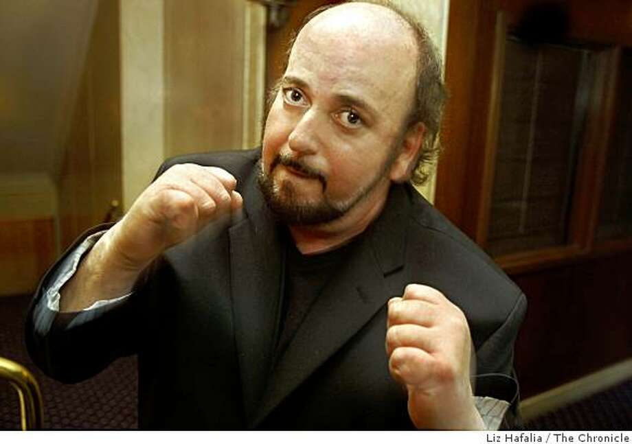 "Director James Toback in San Francisco, Calif., on Friday, May 1, 2009.  His new movie, ""Tyson,"" is a documentary about the controversial former heavyweight champ. Photo: Liz Hafalia, The Chronicle"