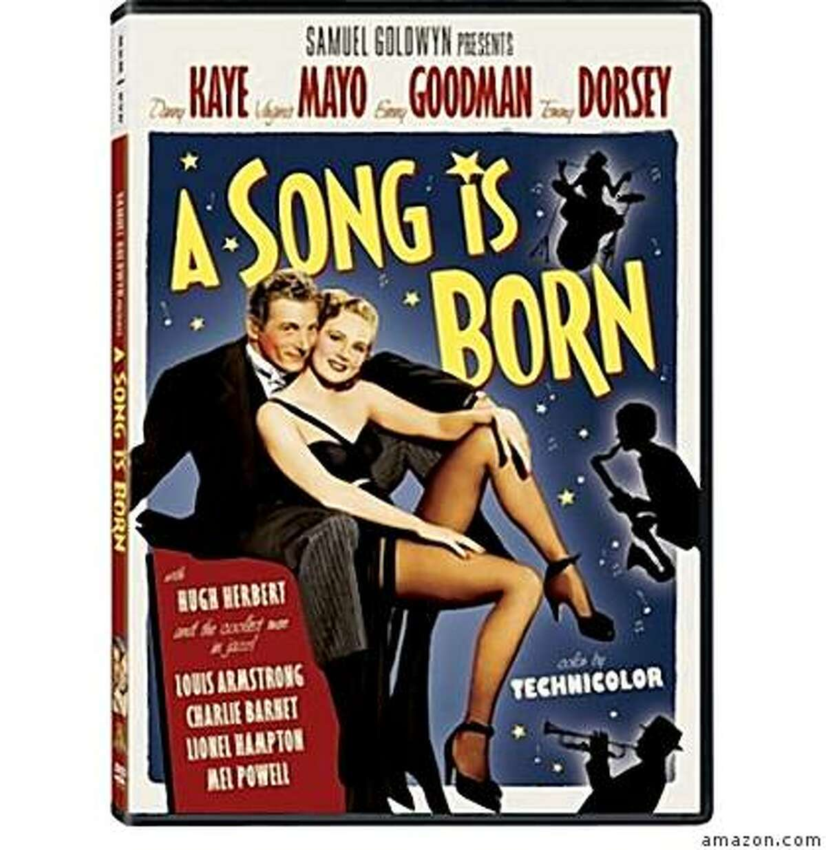 dvd cover A SONG IS BORN