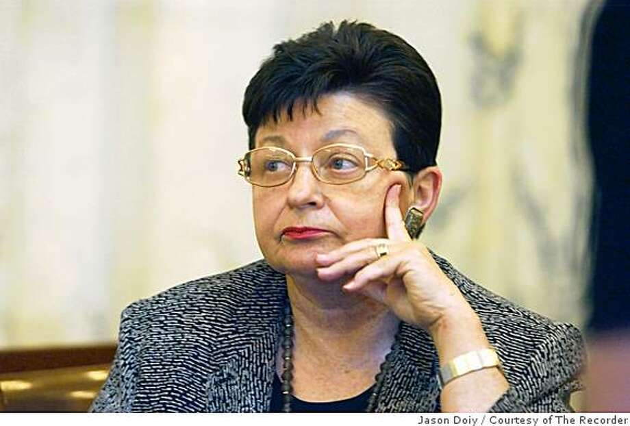 Ran on: 08-06-2005 Federal Judge Marilyn Hall Patel's open letter to the nominee was published in the National Law Journal. Photo: Jason Doiy, Courtesy Of The Recorder