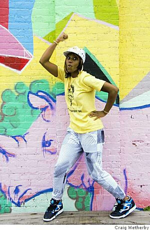 Santigold will perform on Thursday May 21 at the Warfield. Photo: Craig Wetherby