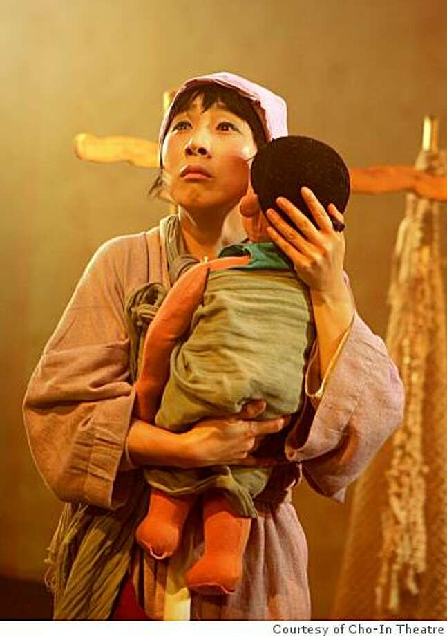 "Lee Sang Hee as the Angel in Cho-In Theatre's ""The Angel and the Woodcutter"" in the San Francisco International Arts Festival Photo: Courtesy Of Cho-In Theatre"