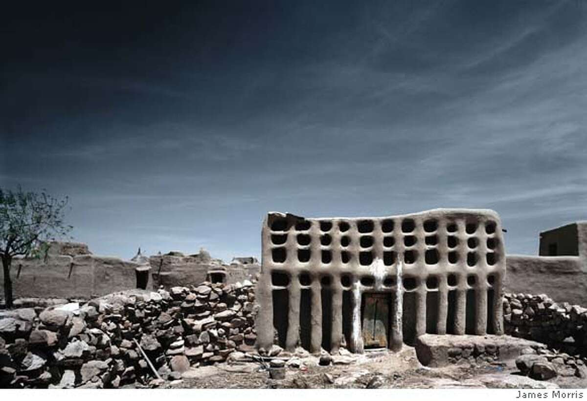 British photographer James Morris documents the architectural exuberance of West Africa's mud buildings.