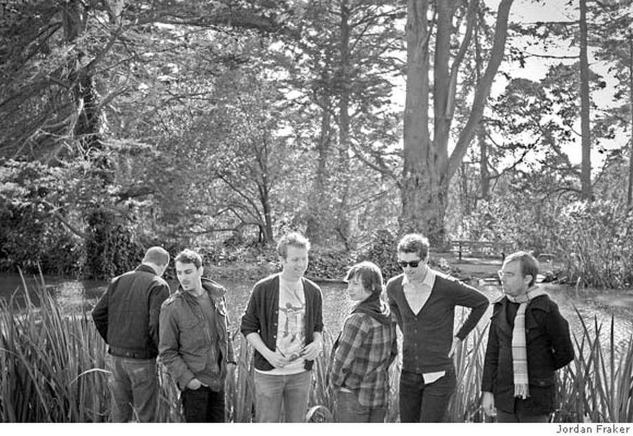 photo to be credited to Jordan Fraker  Magic Bullets L-R id is Nathan Sweatt, Colin Dobrin, Matt Kallman, Ryan Lynch, Philip Benson, Corey Cunningham. Photo: Jordan Fraker
