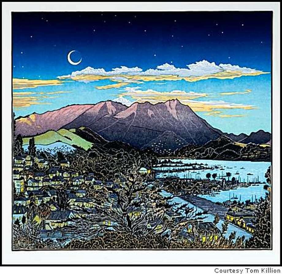 "new Mt. Tam print titled ""Mt. Tamalpais from Bulkley Av., Sausalito"" (from Nov. 2008) Photo: Courtesy Tom Killion"