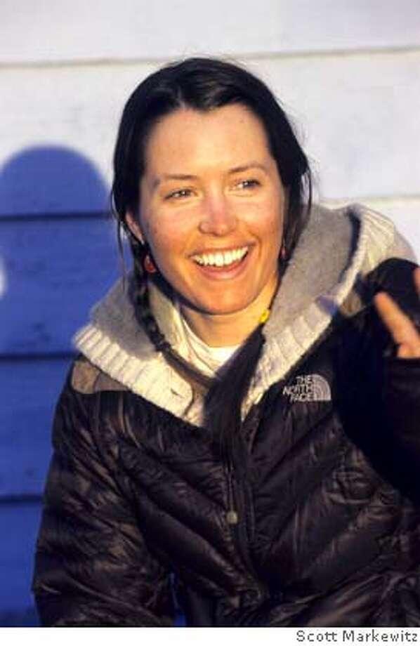 Portrait of Ingrid Backstrom in Haines, Alaska Photo: �Scott Markewitz Photography