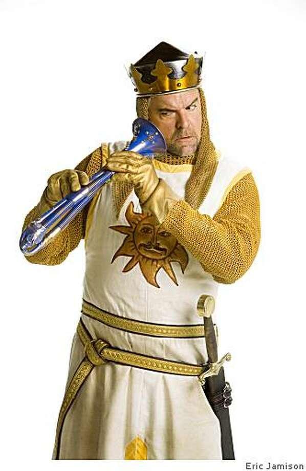 John O'Hurley as King Arthur in the National Tour of Monty Python's Spamalot.John O'Hurley as King Arthur in the National Tour of Monty Python's Spamalot.Photo by Eric Jamison Photo: Eric Jamison