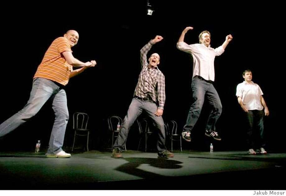 Rob Corddry, Brian Huskey, Seth Morris and John Ross Bowie are The Naked Babies The SF Sketchfest 2007 held at 10 venues in the San Francisco Bay Area from January 11-28, 2007. ( 2006 Photo by Jakub Mosur) Photo: Jakub Mosur JAKUB MOSUR