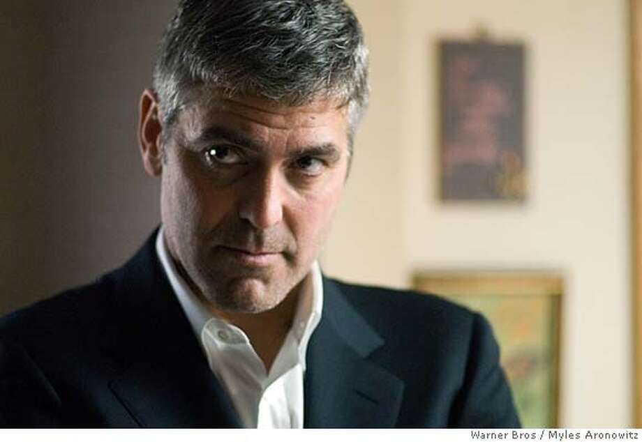 GEORGE CLOONEY stars as Michael Clayton in Warner Bros. Pictures, Samuels Media and Castle Rock Entertainment�s drama �Michael Clayton,� distributed by Warner Bros. Pictures.  PHOTOGRAPHS TO BE USED SOLELY FOR ADVERTISING, PROMOTION, PUBLICITY OR REVIEWS OF THIS SPECIFIC MOTION PICTURE AND TO REMAIN THE PROPERTY OF THE STUDIO. NOT FOR SALE OR REDISTRIBUTION.  Ran on: 11-04-2007  Tony Leung (top) and Tang Wei in &quo;Lust, Caution&quo;: sexy roles. Photo: Myles Aronowitz