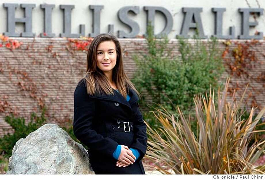 Jasmine Nachtigall was at Hillsdale High School in San Mateo, Calif. on Saturday, Dec. 22, 2007. She has received a Jefferson Award for founding a student-run volunteer center on campus. PAUL CHINN/The Chronicle  **Jasmine Nachtigall MANDATORY CREDIT FOR PHOTOGRAPHER AND S.F. CHRONICLE/NO SALES - MAGS OUT Photo: PAUL CHINN