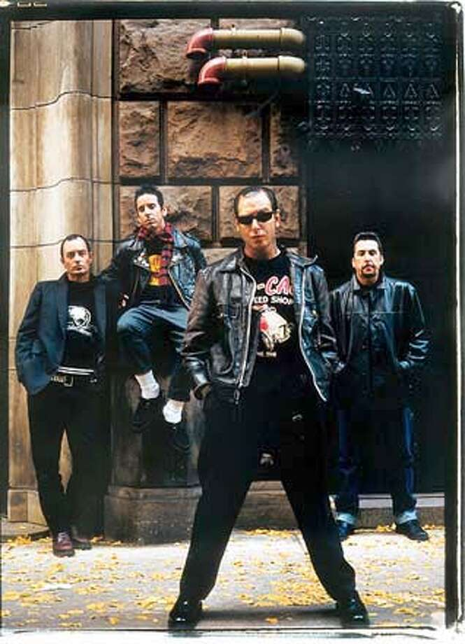 Social Distortion plays the Fillmore from Nov. 9-10, 13-15. Credit: none, handout Ran on: 11-10-2005  Social Distortion plays at the Fillmore in San Francisco tonight and the Catalyst in Santa Cruz on Friday.  Ran on: 11-16-2007  Les Claypool's annual Hatters Ball is Dec. 31 at the Fillmore. Photo: HO