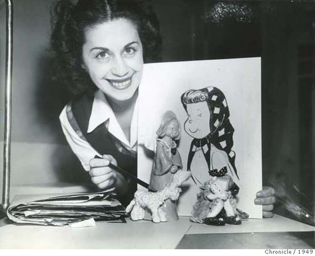 Obit photo of Martha Arguello. also known as Marty Links�a former Chronicle cartoonist. Photo taken in 1949