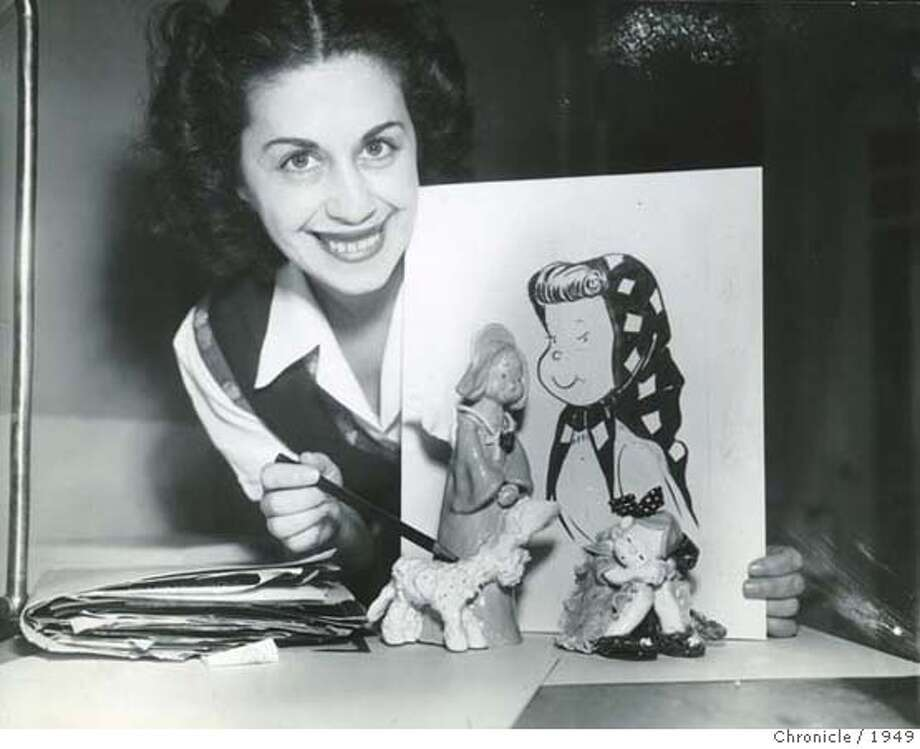 Obit photo of Martha Arguello. also known as Marty Links�a former Chronicle cartoonist. Photo taken in 1949 Photo: Chronicle File Photo