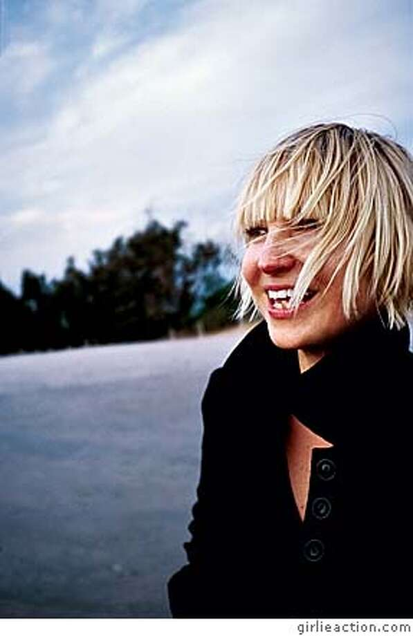 Pop singer Sia. Credit: GirlieAction.com Ran on: 01-06-2008  Pop singer Sia is working on a project called &quo;The 'H' Crusader&quo; that involves music, animated films and a comic book.  Ran on: 01-04-2008 Photo: Credit: GirlieAction.com