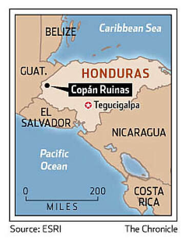 Honduras. Chronicle Graphic
