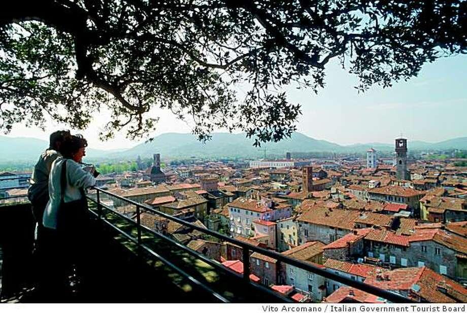 The town of Lucca in Tuscany Photo: Vito Arcomano, Italian Government Tourist Board