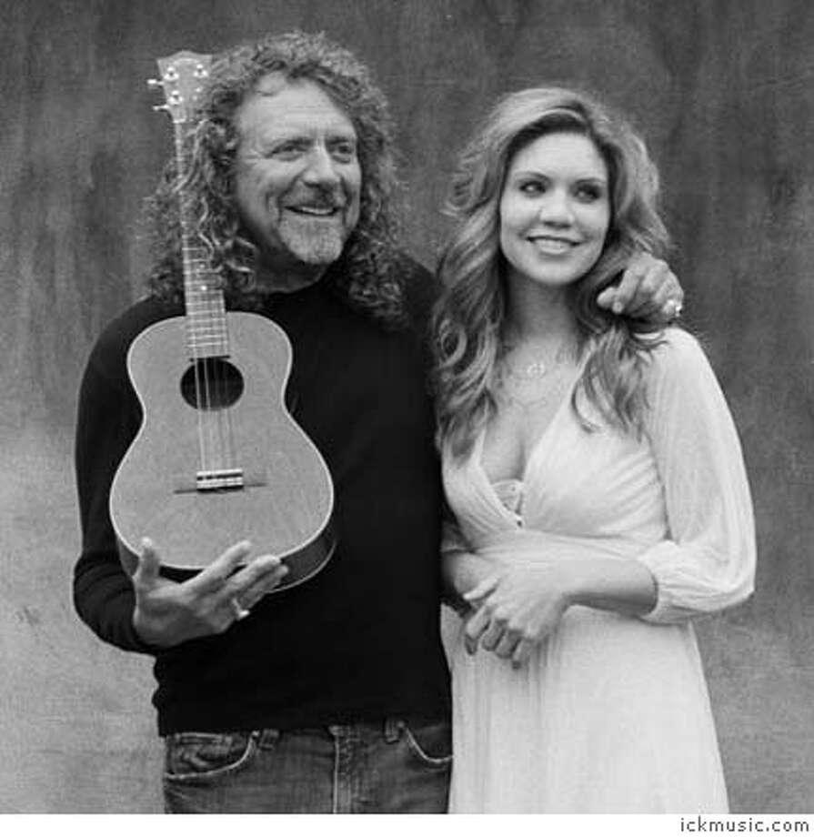 Dream team: Robert Plant and Alison Krauss. Photo courtesy of Ickmusic.com