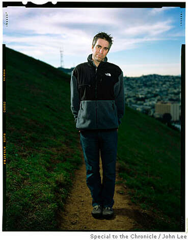 SAN FRANCISCO, CALIF - DEC 12: Environmental activist Adam Werbach (cq), photographed in Bernal Hill Park on December 12, 2007. By JOHN LEE/SPECIAL TO THE CHRONICLE  Ran on: 01-06-2008 Photo: John Lee