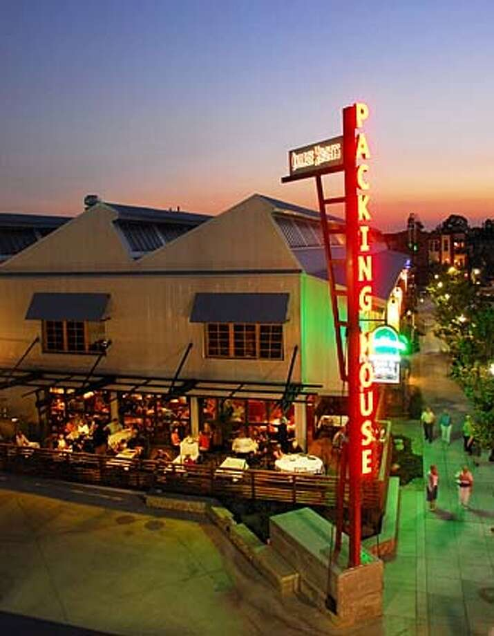TRAVEL CLAREMONT -- The Packing House, a former citrus packing facility in Claremont, is now a mix of trendy restaurants and shops that have brought new nightlife to the college town. Photo: HO