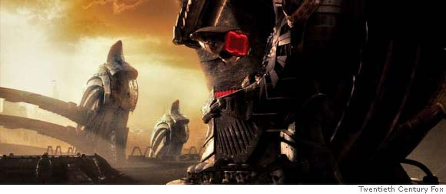 AVP2KS- 506 The Predator world holds secrets that portend a battle on Earth between the Predator and Aliens. Photo credit: Courtesy of 20th Century Fox Photo: 20th Century Fox