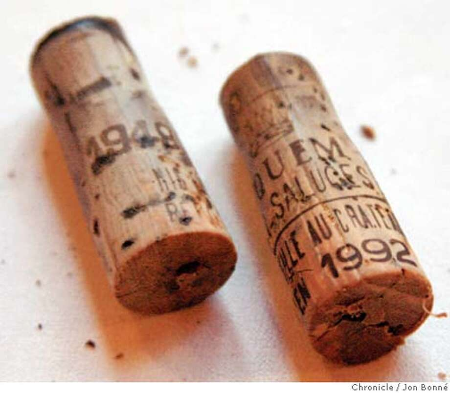 Corks from Chateau d�Yquem