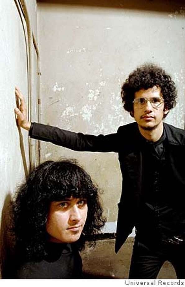 The Mars Volta  Cedric Bixler-Zavala (left) and Omar Rodriguez-Lopez Photo: Universal Records