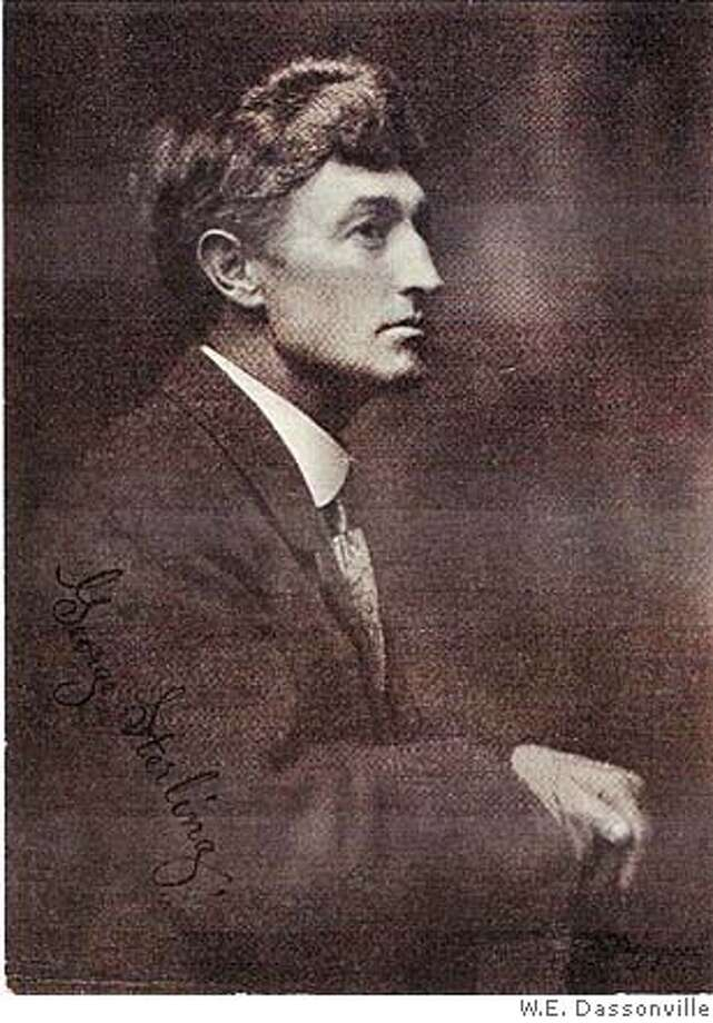 George Sterling taken by the famous California portrait artst W.E. Dassonville at about the time Wizardry was published. Photo: W.E. Dassonville