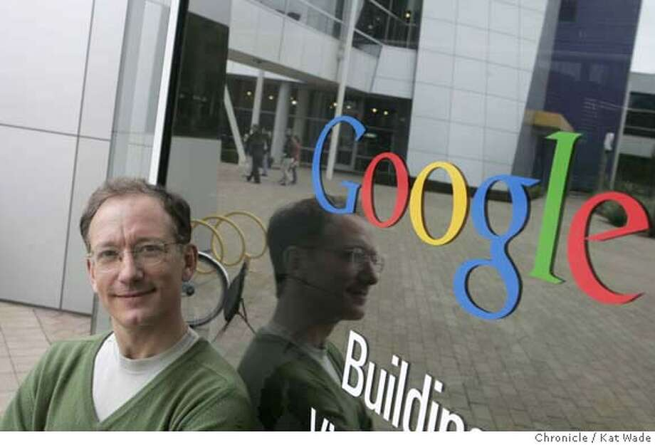 FLEISCHER17_017_KW.JPG  Peter Fleischer, Google's global privacy lawyer poses for a portrait at the Google complex on 12/12/07 Monday afternoon in Mt. View, Photo by Kat Wade  Peter Fleischer (CQ SUBJECTS) Mandatory Credit for photographer, Kat Wade Photo: Kat Wade
