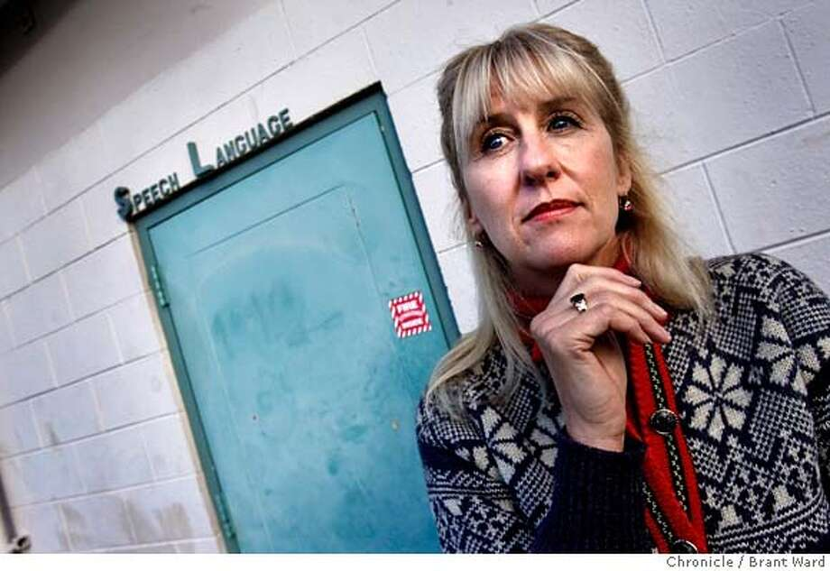 asbestos_157.JPG  Victoria DeLuca stands in front of her old classroom where asbestos was discovered. The classroom is locked up now.  Victoria DeLuca, a speach therapist at Highland Elementary School in San Mateo, thought the pipes in her classroom might contain asbestos. After the district tested them, she did her own tests and found high amounts of asbestos. Unfortunately the district failed to remove the teacher and kids for 11 days after they found out DeLuca's suspicions were true.  {By Brant Ward/San Francisco Chronicle}12/18/07  Ran on: 12-21-2007  Victoria DeLuca stands in front of her old Highlands Elementary School classroom, where asbestos was discovered.  Ran on: 12-21-2007 Ran on: 12-21-2007  Victoria DeLuca stands in front of her old Highlands Elementary School classroom, where asbestos was discovered. Photo: Brant Ward