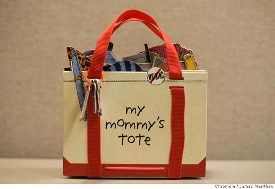 "Studio shot of ""My Mommy's Tote"" book CR: Jim Merithew/The Chronicle Photo: Jim Merithew"