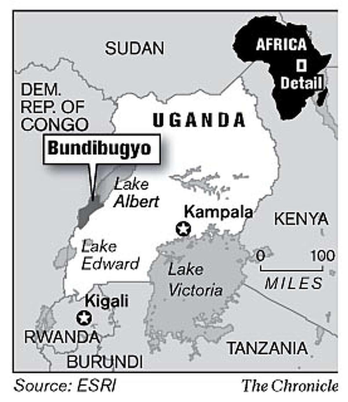Bundibugyo, Uganda. Chronicle Graphic