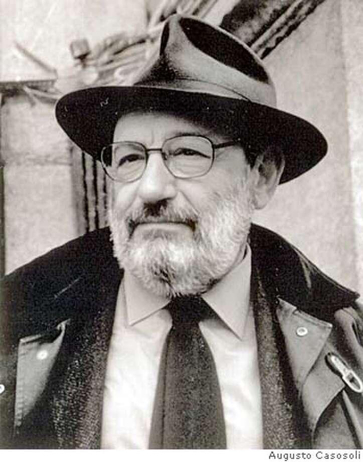 TURNING16.jpg Author Umberto Eco Handout/ Handout Photo: Augusto Casosoli