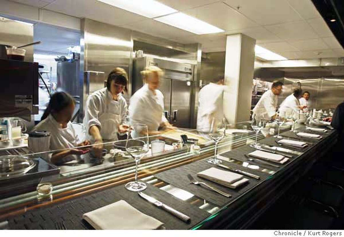 Conduit a new restaurant on Valencia St designed by Bay Area architect Stanley Saitowitz . WHATS26_0040_KR.jpg Kurt Rogers / The Chronicle Photo taken on 12/22/07, in San Francisco, CA, USA MANDATORY CREDIT FOR PHOTOG AND SAN FRANCISCO CHRONICLE/NO SALES-MAGS OUT