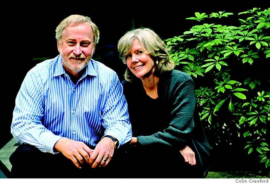 Douglas Frantz and his wife and co-author Catherine Collins Photo: Colin Crawford
