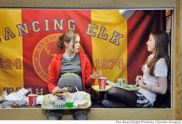 "From left: Ellen Page and Olivia Thirlby in ""Juno"".  Photo Credit: Doane Gregory  HANDOUT from Fox Searchlight Pictures Photo: Fox Searchlight Pictures"