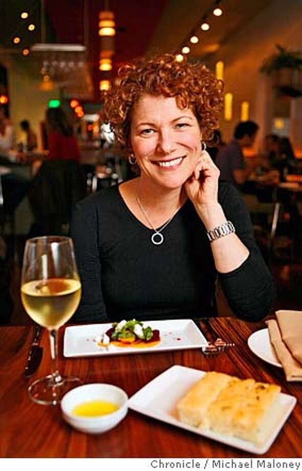 Cookbook author, cooking teacher and television personality Joanne Weir likes the excellent ingredients served at Nua restaurant in San Francisco's North Beach. Chronicle photo by Michael Maloney