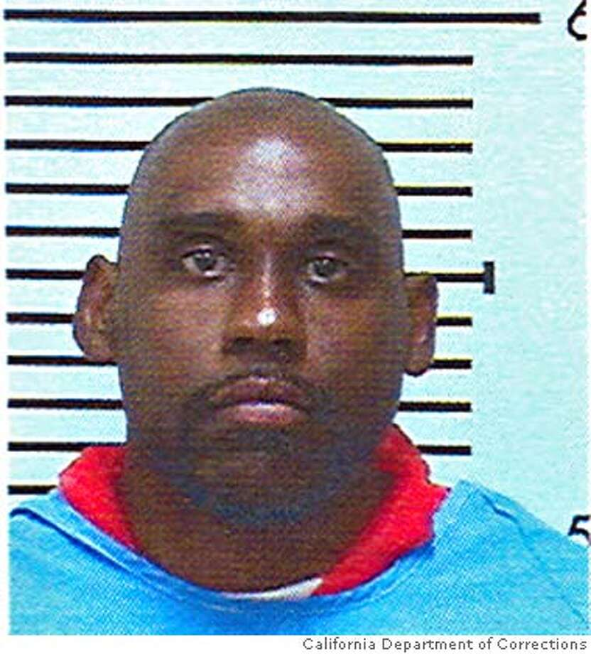 oakkiller_spears.jpg Undated handout picture from the California Department of Corrections and Rehabilitation of Hamisi Spears. Spears is serving a murder sentence of 39 years to life at Folsom State Prison for killing a man during an attempted robbery on June 4, 1995. California Department of Corrections and Rehabilitation / MANDATORY CREDIT FOR PHOTOG AND SAN FRANCISCO CHRONICLE/NO SALES-MAGS OUT Photo: California Department Of Correct