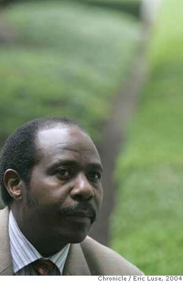 "cheadle02048_el.jpg  In the new movie ""Hotel Rwanda,"" Don Cheadle portrays a guy named Paul Rusesabgina, who in real life helped save the lives of 1,200 refugees from the Rwandan civil war. Paul is in town to help publicize the film, which opens in early January. Ruthe Stein interviewed Don Cheadle at the Toronto Film Festiva, and we would like to have our own picture of Paul to go with Ruthe's interview. Paul will be available for photographing at 10 a.m.  City:� Event on 12/9/04 in San Francisco. Eric Luse / The Chronicle Ran on: 01-02-2005  Paul Rusesabagina is the real-life hero portrayed by Don Cheadle in &quo;Hotel Rwanda.&quo;  Ran on: 12-11-2007  Paul Rusesabagina, who helped save the lives of 1,200 refugees in the Rwanda civil war. Photo: Eric Luse"
