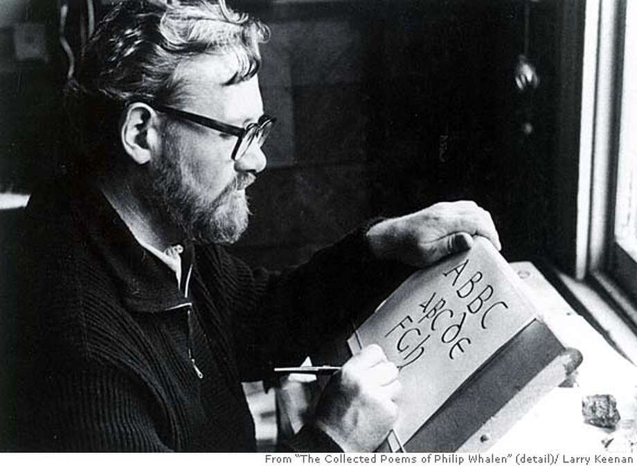 rletters16.jpg Phillip Whaler in his SF apartment. 1965 MANDATORY CREDIT FOR PHOTOG AND SF CHRONICLE/NO SALES-MAGS OUT Photo: Larry Keenan