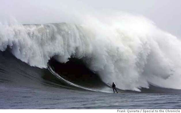 jenkins11_ph.jpg Darryl Virostko, the big-wave surfer known as Flea, rides a wave at Maverick's on December 4, 2007. The famous surf spot saw some of the biggest waves ever on December 4, and Virostko survived a huge wipe out earlier in the day. Frank Quirarte / Special to The Chronicle MANDATORY CREDIT FOR PHOTOG AND SAN FRANCISCO CHRONICLE/NO SALES-MAGS OUT Photo: Frank Quirarte