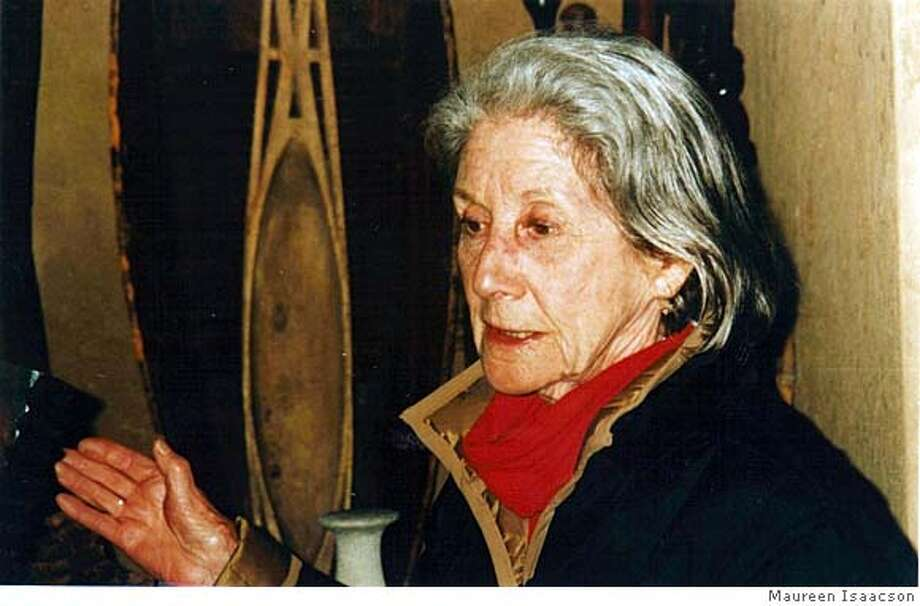 """Nadine Gordimer, author of """"Beethoven Was One-Sixteenth Black""""  FOR USE WITH BOOK REVIEW ONLY Photo: Maureen Isaacson"""