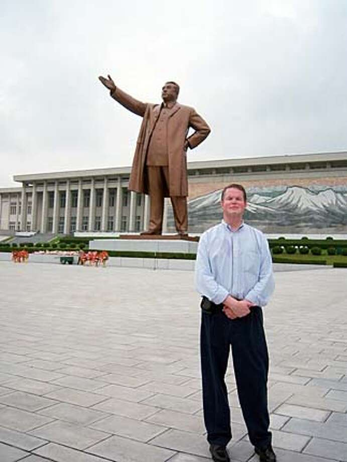 "TRAVEL -- Scott Cooper, Benicia Email: tu154pilot@aol.com  Daytime phone number: 707 816 8268 Just back from: Pyongyang, DPRK (North Korea) I went because: I had a rare opportunity as part of a small group of US tourists to be allowed in to what is otherwise the most closed country on the planet. Don't miss: The Arirang Mass Games are a sight to behold, and seeing the DMZ from the North Korean side/perspective is fascinating. Don't bother: Leaving your hotel or wandering around without your North Korean 'guides,' it's not allowed. Coolest souvenir: Photographs and memories of ordinary North Koreans who were very warm, friendly, and welcoming. Worth a splurge: Not a shopper's paradise, but check out the Foreign Language Bookshop for such titles as ""the DPRK, an Earthly Paradise for the People."" I wish I'd packed: More small gifts for the various guides I met along the way. Other comments: As an airline pilot, my travels have taken me to some unusual places, but this was truly the most fascinating. A trip of a lifetime. Details of attached photo (if sent): The is the Grand Monument to the 'Great Leader,' Kim Il Sung, on Mansu Hill in Pyongyang. It is the first stop for ALL visitors to the DPRK. OK FOR USE ON SFGATE. Photo: None"